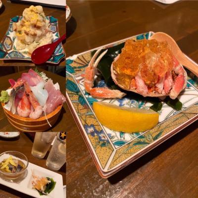 黒部アルペンルートと金沢の旅:食の記録