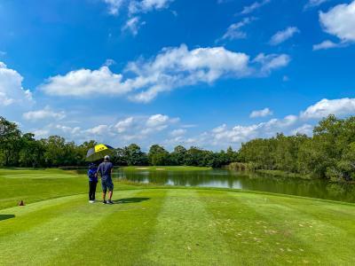 タイで10回目のゴルフ WATERMILL GOLF & GARDENS
