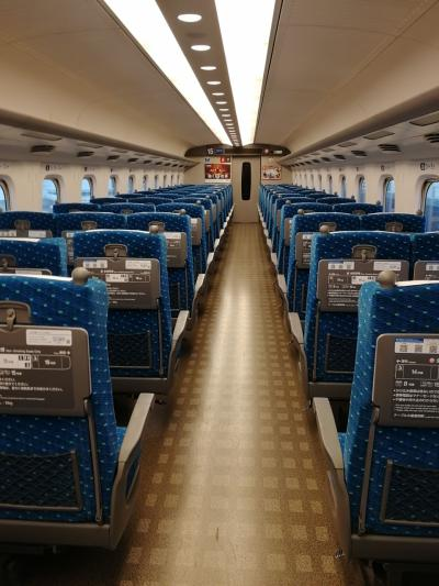 GOTOトラベル割引を新幹線にも適用させて大阪へ