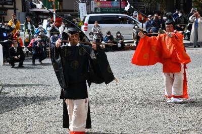 戸隠神社中社、「白木の大鳥居」建て替えて竣工式