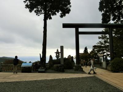 県内旅行で丹沢 大山へ。①まずはケーブルカーで大山阿夫利神社下社へ。
