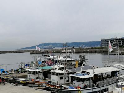 京阪神自由周遊きっぷで最西端へ。垂水漁港と明石海峡大橋