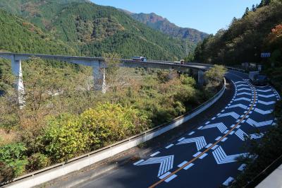ループ橋駐車場(埼玉県秩父市)へ・・・