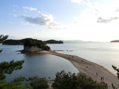 5歳娘と2泊3日でGOTO四国【1】小豆島エンジェルロード