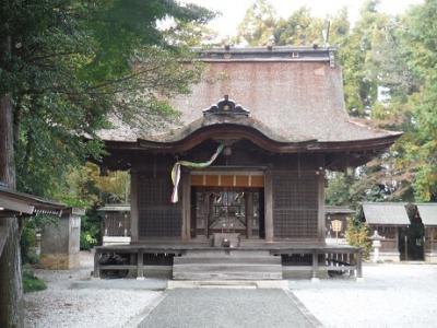 坂田神明宮訪問