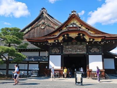 4連休GoTo京都の旅(1)二条城、トロッコ列車と保津川下り