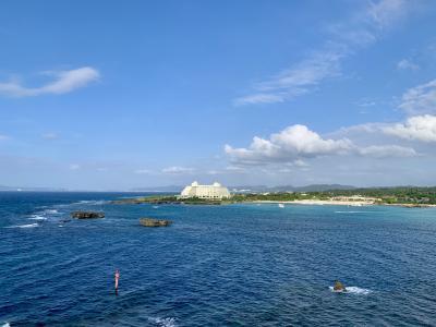夫婦2人で車なしの沖縄旅行4泊5日_3日目(美ら海水族館・万座毛・アメリカンビレッジ)