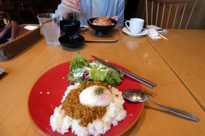 次男を送る東京日帰り 復路 八王子~三島のドライブ 足柄SA下り 足柄の森レストランの昼食