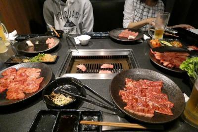 焼肉飯店 京昌園 三島駅南口店の夕食