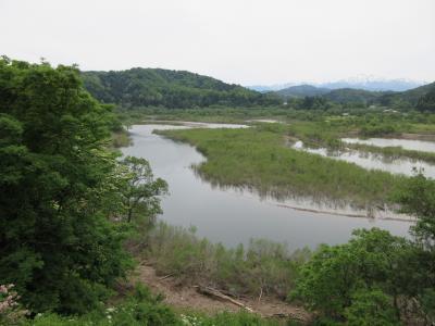 初夏の白川ダムと横川ダム