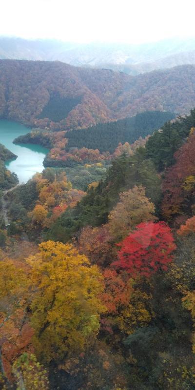 絵葉書の様な紅葉と雪山を一度に味わう越後・信州  感動の旅1、塩沢宿と三大渓谷の1つ清津峡を訪ねる。