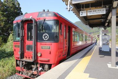 2020年10月 ハロー!自由時間クラブ会員用 みんなの九州きっぷで行く北部九州鉄道の旅(1)九州横断特急乗車編