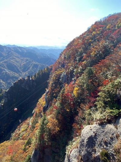 御在所へ紅葉を見に登山