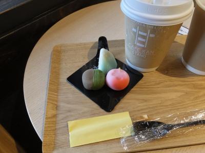 石川県 金沢市◆ 和カフェ『cafe甘stand』『cafe甘 杜の里店』『豆月』2020/11/03・06・08