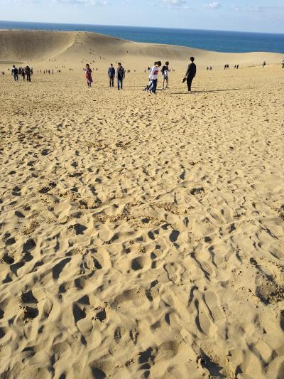 白地図を塗る旅:初めての鳥取砂丘(退職記念旅行1日目)