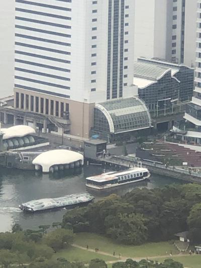 アジュール竹芝に宿泊、森美術館STARS展と東京駅にて新幹線見学の旅