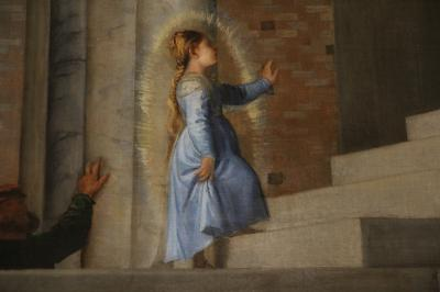 シニア夫婦の欧州5カ国ゆっくり旅行30日 (27)晴天の下ヴェネツィアで美術館.教会巡りです(3月25日)