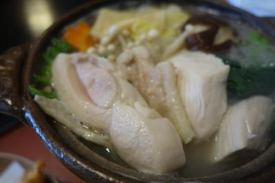 20201103-2 京都 松尾大社の横、料亭の水たきをお昼に。鳥米。