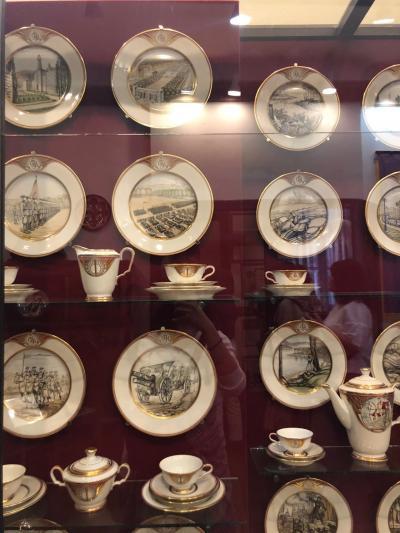 【繊細な陶器に囲まれる空間】~ラトビア・リガ 歴史と海運の博物館~