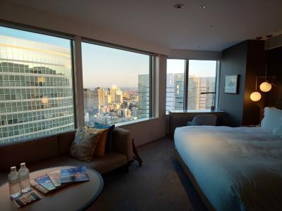 #1 ラウンジでAfternoon Tea&お部屋紹介・ストリングスホテル東京インターコンチネンタルのクラブフロアにお泊まり♪