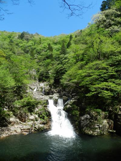 三段峡を代表する滝『三段滝』◆2018年GW・広島の滝めぐり《その4》