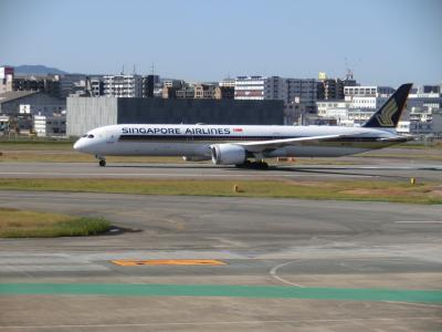 祝シンガポール航空福岡便復活記念。午前中に福岡空港に行って色々旅客機を撮影する編