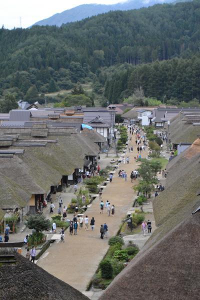 一人ドライブ車中泊 一日目 古峯神社・大内宿・五色沼を歩く
