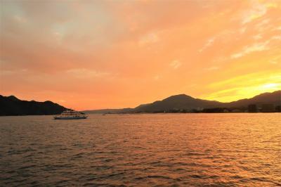 【2020年9月】4歳息子と行く広島(2)呉から船で宮島に上陸
