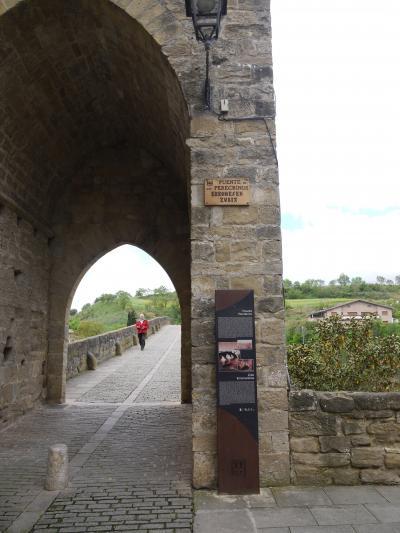 旅の思い出Puente la Reina