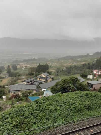 長野上山田1泊温泉旅行(4)姥捨て棚田へ。
