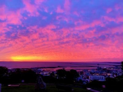 紋別へ朝陽を見に行こうよ