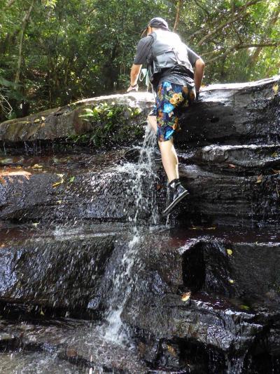 クーラ川 マングローブカヌー滝上滝壺