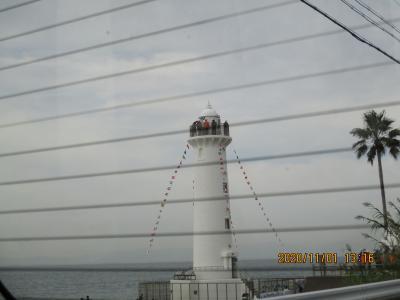 豊浜往復の海岸46474849野間灯台でイベント