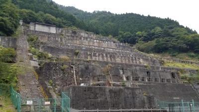 圧巻の産業遺産 神子畑選鉱場跡