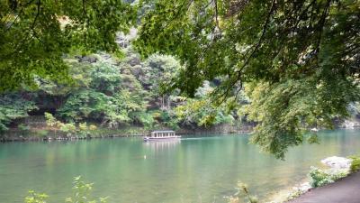 秋の兵庫県・大阪府周遊の旅-番外編--京都嵐山小旅行-