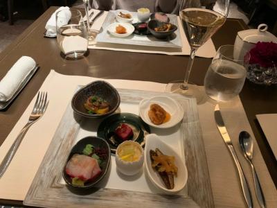 #2 カクテルタイム・ストリングスホテル東京インターコンチネンタルのクラブフロアにお泊まり♪