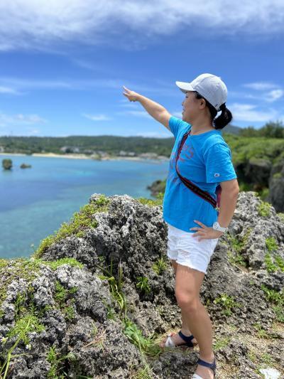 モーニングビーチヨガと本島ドライブ☆次女と2泊3日沖縄3日目