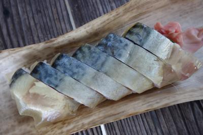 20201105-3 高島 帰り道に、栃生梅竹の鯖寿司を