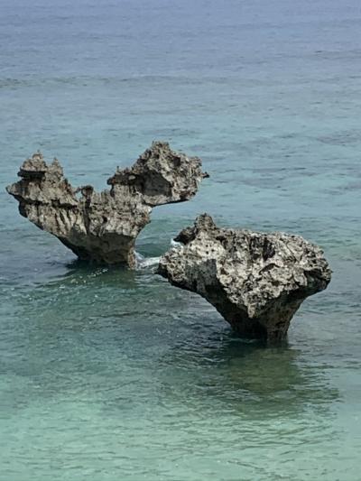 夏休みは孫と沖縄へ パワースポットへも♪