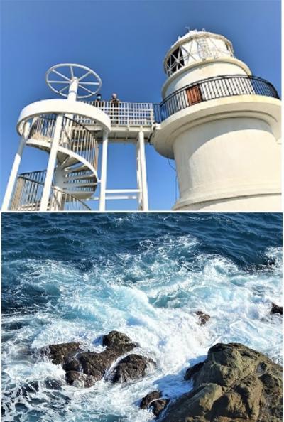 紀伊半島~瀬戸内しまなみ海道 2000kmドライブ (4) 串本の橋杭岩、紀伊大島、樫野埼灯台