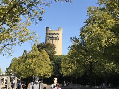 秋は塔を求めて のんほいパーク編