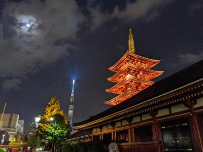 Go To 東京3Days~【1】お久しぶりの浅草&お初の六本木ヒルズ