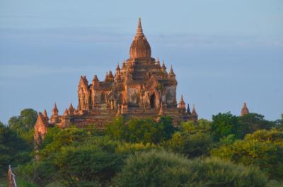 敬虔な佛教国に-2日目◆バガン◆