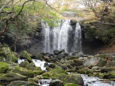 那須・塩原地区の滝めぐり『乙女の滝』◆2017年11月・宇都宮&那須の旅《その7》