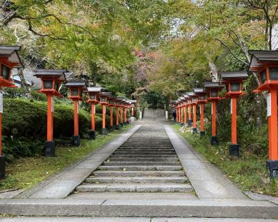 ひとり旅は秋の京都へ② 鞍馬寺を山越え…修行やないか~い!
