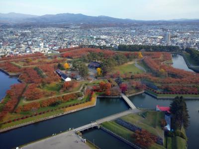 2020年11月紅葉の季節の松前城と函館1泊2日