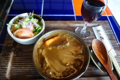 20201108-4 京都 炎の池のシチューは、箸でいただく