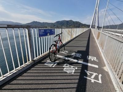 '20 しまなみ海道サイクリング5 生口島(向上寺~サンセットビーチ~多々羅大橋)