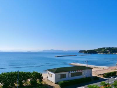 海の見えるホテルで、波音に癒される@小豆島シーサイドホテル 松風