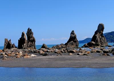 2020.10 Go To Travel 和歌山,白浜,那智勝浦旅行14終-橋杭岩を見た後.一路関空へ